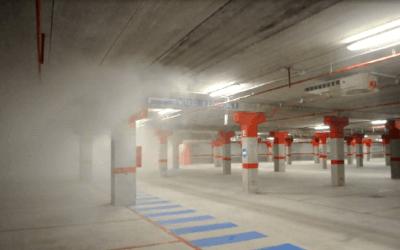 La ventilación por impulso en aparcamientos