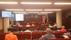 El CLÚSIC participa a la  jornada del CAATEEB sobre La proteccio passiva contra el foc a l'edificació
