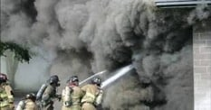 Toxicitat de fum en incendis