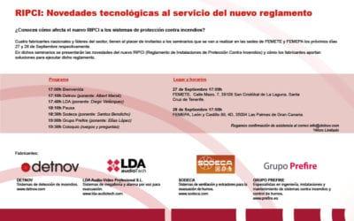 Empreses del CLÚSIC presents a la presentació del nou RIPCI a Canàries