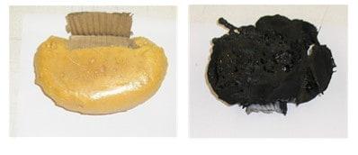 Mostres de poliuretà assajades en laboratori