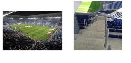 Estadi del RCD Espanyol: les vies d'evacuació de l'estadi permeten una evacuació ràpida i segura