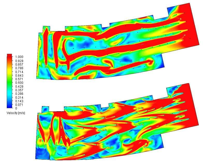 Análisis de resultados de simulaciones CFD para la validación de sistemas de ventilación