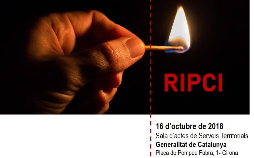 16/10/2018 – Jornada: Aplicació del RIPCI a Catalunya