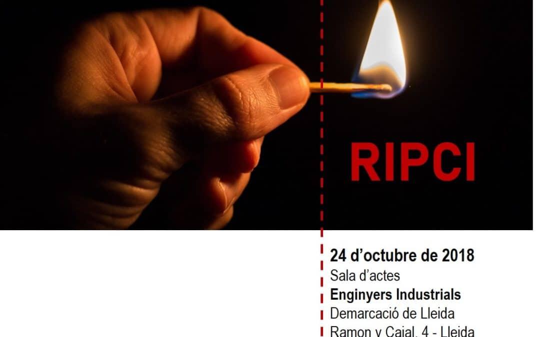 24/10/2018 – LLEIDA – Jornada RIPCI: Aplicació a Catalunya