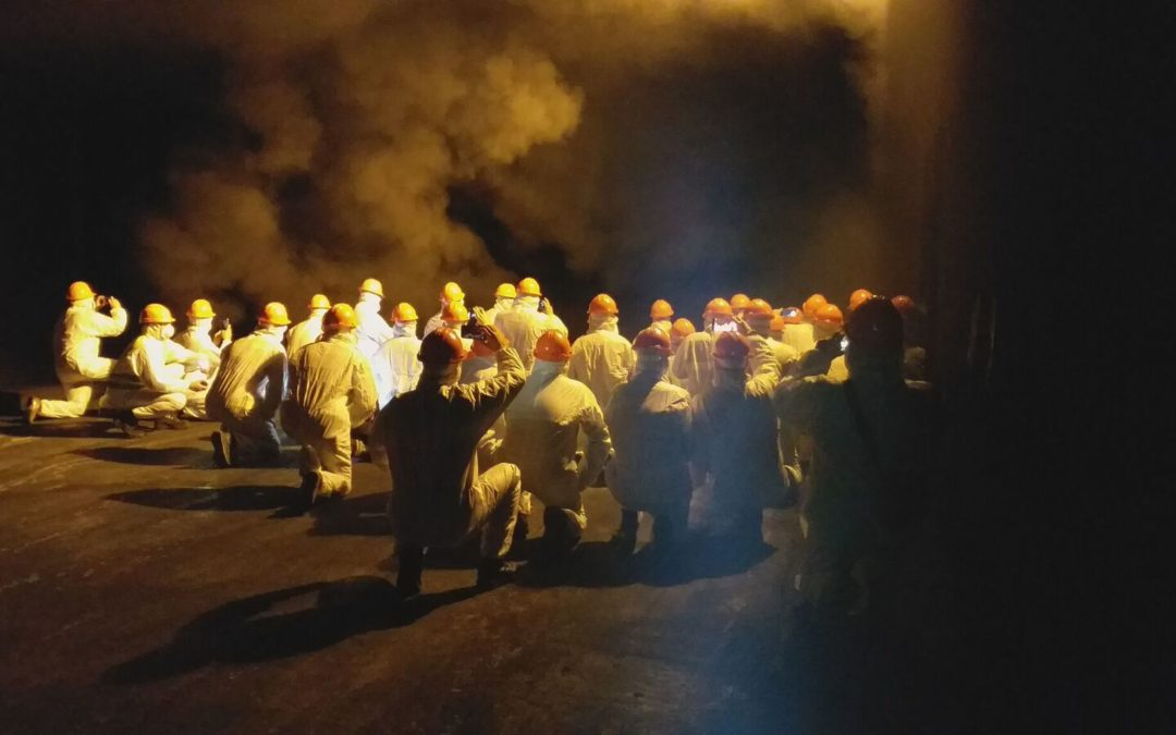 El CLÚSIC visita el Tunnel Safety Testing d'APPLUS a Astúries