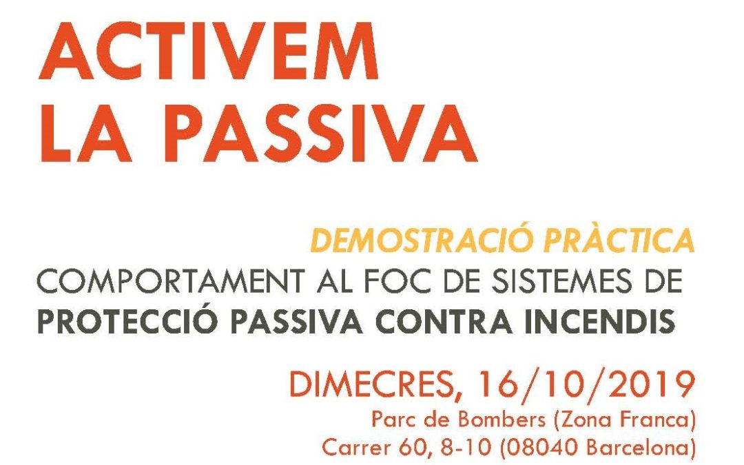 Jornada: ACTIVEM LA PASSIVA