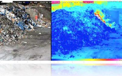 Sistemas de detección de incendios mediante análisis de contenido con cámaras térmicas o termográficas