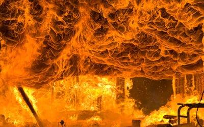 Guía protección contra incendios para estructuras metálicas