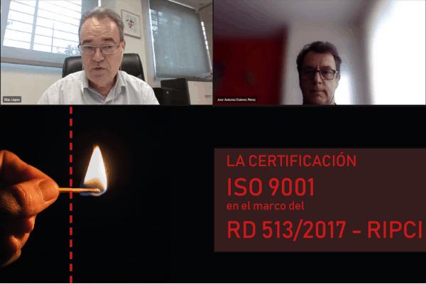 Crònica Jornada ISO 9001 en el marc del RD 513/2017