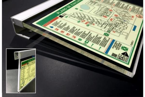 Plànols d'Evacuació com a sistemes de senyalització fotoluminescents