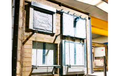 Cerramientos para sistemas transportadores y de cintas